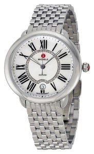 Michele Serein 16 MID Diamond Dial Stainless Steel MWW21B000009 Ladies Watch