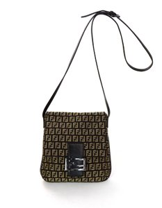 Fendi Monogram Ff Logo Cross Body Bag