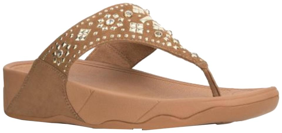d1b5cf8172b7 FitFlop Lulu Aztek Lulu Azteck Slide Walnut Brown Sandals Image 0 ...