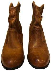 Montana Leather Russet Brown Boots