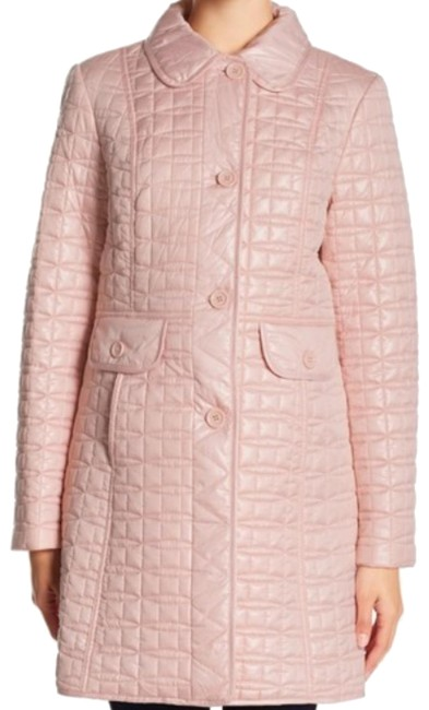 Item - Cameo Pink New Yotk Quilted Coat Size 12 (L)