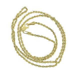 Avital & Co Jewelry 14K Yellow Gold Rope Chain Necklace 3.9 grams