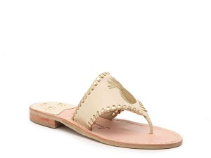 Jack Rogers Summer Beach Pineapple Ivory Sandals