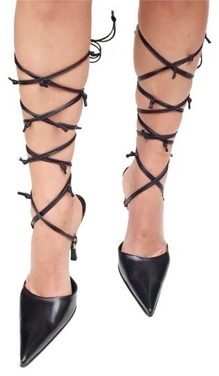 Preload https://img-static.tradesy.com/item/24383935/cesare-paciotti-black-leather-lace-up-pumps-size-eu-40-approx-us-10-regular-m-b-0-1-540-540.jpg
