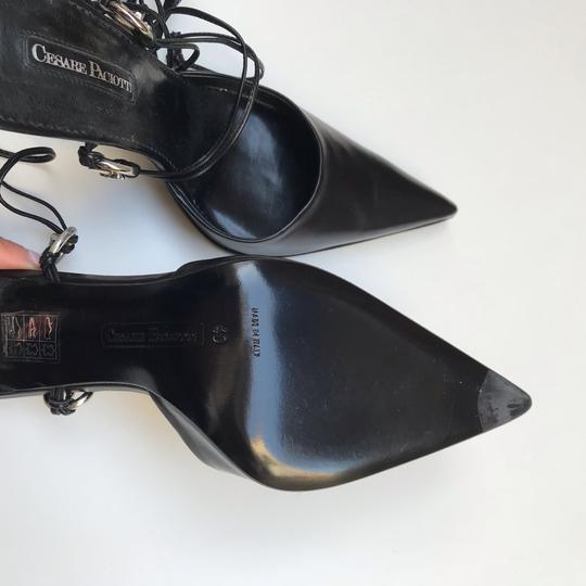 Cesare Paciotti Black Pumps Image 10