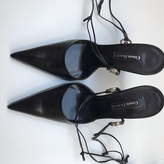 Cesare Paciotti Black Pumps Image 3