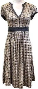 Eva Franco short dress silver gold on Tradesy