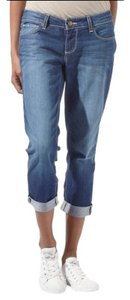 Paige Venice Capri/Cropped Denim-Medium Wash