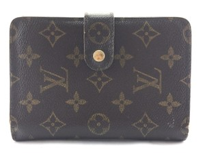 Louis Vuitton Large Monogram compact Flap Wallet bifold Zip Zippy around