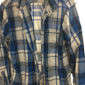 Wrangler Button Down Shirt blue