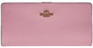Coach COACH Skinny Refined Calf Leather Wallet