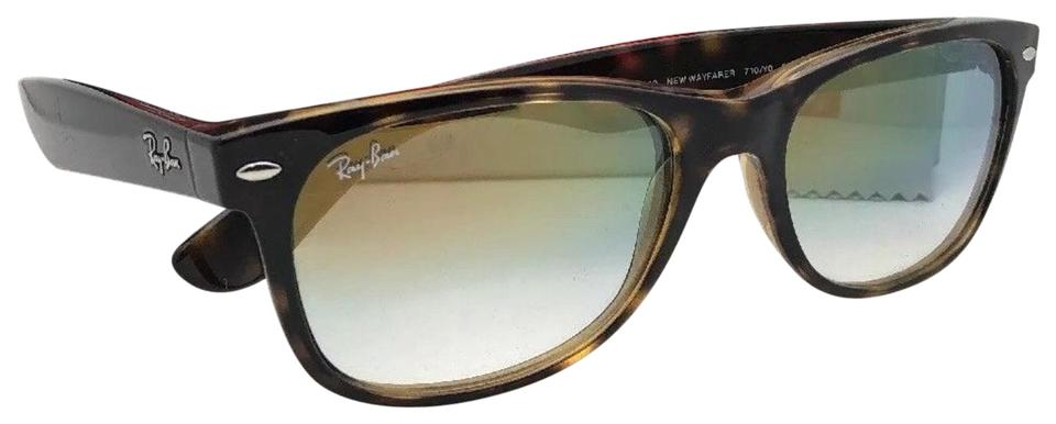 a3cd47d51be Ray-Ban New Wayfarer Rb 2132 710 Y0 52-18 Havana W  Clear Fade Gold ...