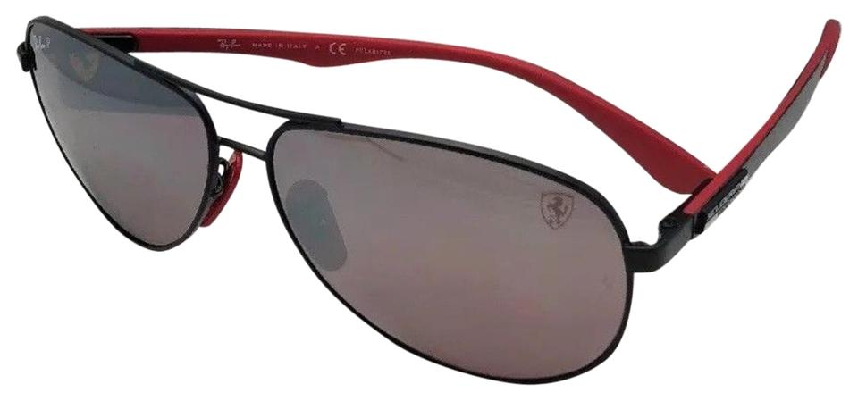 ray ban aviator ferrari edition