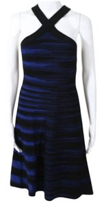 Ohne Titel short dress Black and Blue on Tradesy