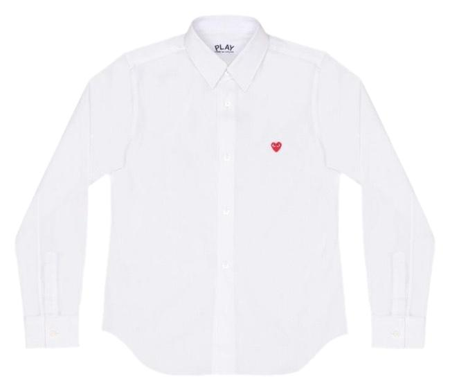 Preload https://img-static.tradesy.com/item/24384810/comme-des-garcons-shirt-button-down-top-size-6-s-0-1-650-650.jpg