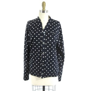 COMME des GARÇONS Polka Dot Patchwork Cozy Imported Sweater