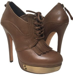 House of Harlow 1960 Brown Platforms