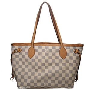 Louis Vuitton Damier Azur Tote in White
