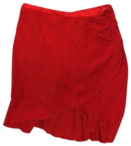 Valentino Skirt Passion Red