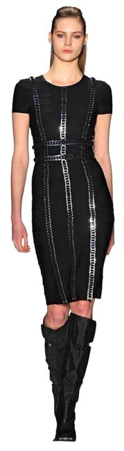 Preload https://img-static.tradesy.com/item/24385141/herve-leger-black-and-silver-ring-disc-detail-cap-sleeve-mid-length-cocktail-dress-size-4-s-0-1-650-650.jpg