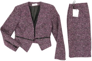 Calvin Klein and Purple/Violet Suit with Super Stylish Zippers at Cuffs and Waist