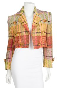 Christian Lacroix yellow Blazer