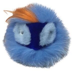 Fendi Fendi Fur Pompom Charm for Handbag, Multi
