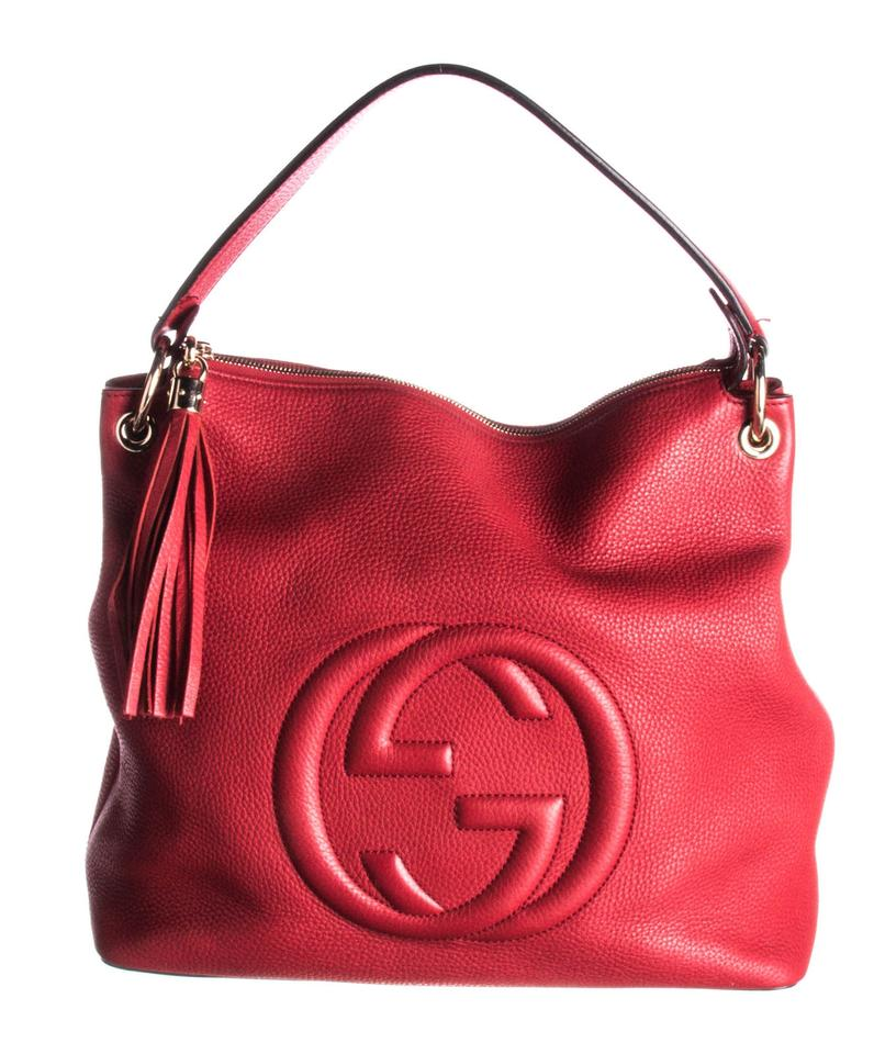 6743ce409 Gucci Gg Supreme Monogram Soho Tote Hobo Bag Image 0 ...