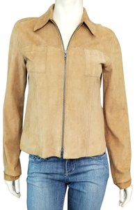 Sundance Tan Leather Jacket
