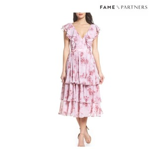 Fame and Partners short dress Pink on Tradesy