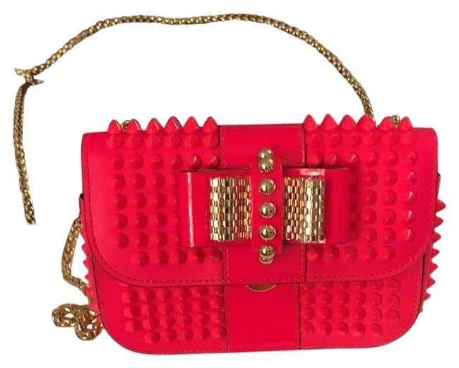 Item - New with Sweet Charity Neon Pink Patent Leather Cross Body Bag