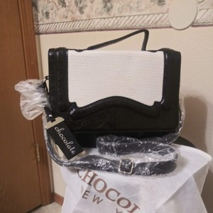 Chocolate Handbags Tote In Black White