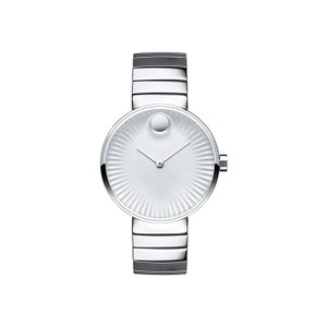 Movado Movado Women's Edge Silver Dial Stainless Steel Watch 3680012