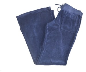 Juicy Couture BLUE TERRY CLOTH JOGGER PANTS MEDIUM SIZE 8