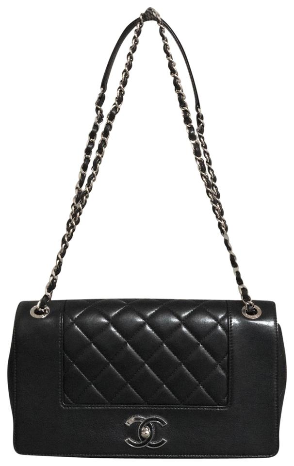 a7eed7c5d2de Chanel Mademoiselle Classic Flap Sheepskin Quilted Vintage Purse ...