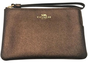 Coach New Wallet New Fall Cute Fall Bags Wristlet in bronze