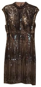 Sue Wong Classic Sequin Beaded Dress