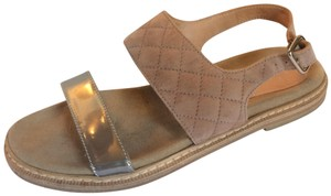 Aquatalia Beige Sandals