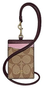 Coach LANYARD ID CASE IN COLORBLOCK SIGNATURE (COACH F57964) F 13955 63274