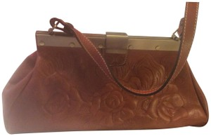 Patricia Nash Designs Satchel in Cognac