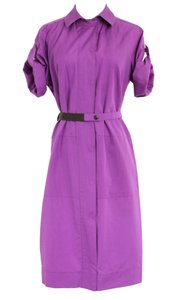 Purple Maxi Dress by Akris Punto