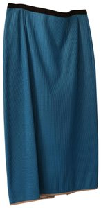 Roland Mouret Skirt turquoise blue