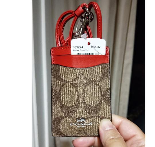 Coach Coach ID LANYARD IN SIGNATURE CANVAS F63274 Image 1