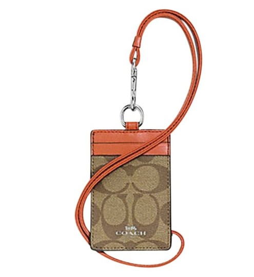 Coach Coach ID LANYARD IN SIGNATURE CANVAS F63274 Image 3
