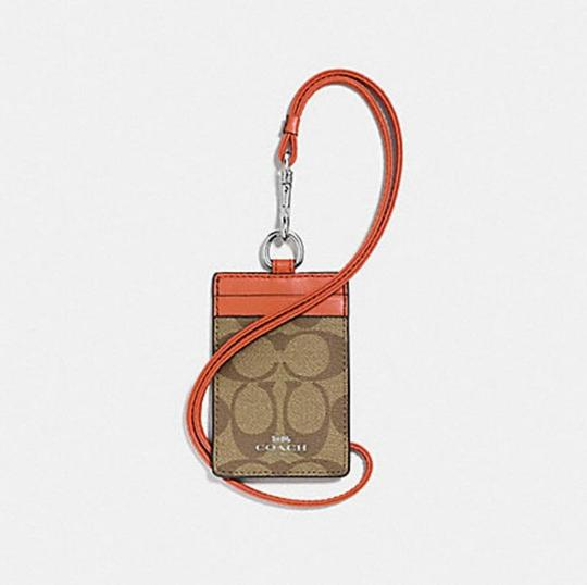 Coach Coach ID LANYARD IN SIGNATURE CANVAS F63274 Image 5