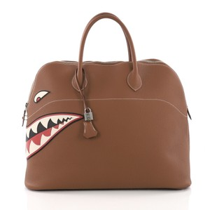 Hermès Limited Edition Bolide Tote in brown