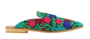 Free People Multicolor Mules