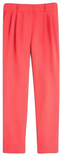 Item - Red Coral Drapery Pleat Front Pants Size 10 (M, 31)