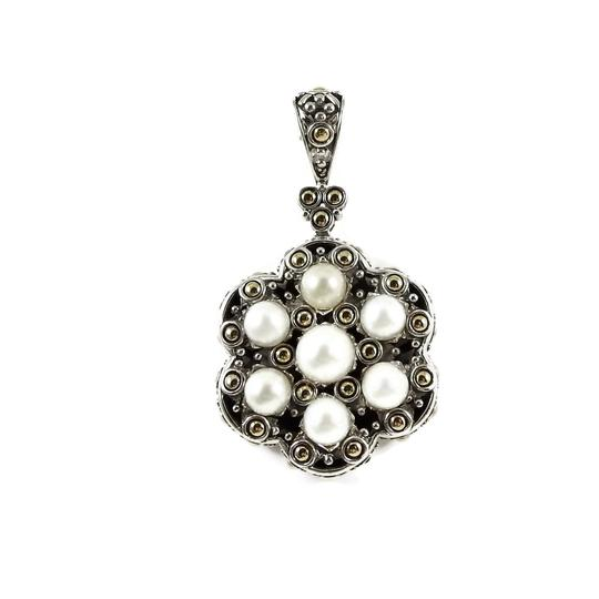 Preload https://img-static.tradesy.com/item/24388378/john-hardy-silver-gold-white-sterling-18k-yellow-pearl-jaisalmer-pendant-necklace-0-0-540-540.jpg