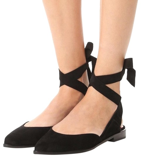 Preload https://img-static.tradesy.com/item/24388442/stuart-weitzman-black-suede-supersonic-ballet-flats-size-us-65-wide-c-d-0-1-540-540.jpg